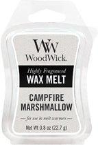 Woodwick Wax Melt Campfire Marshmallow 3 stuks