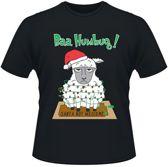 Kerst T-shirt Schaap - Maat L
