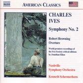 American Classics - Ives: Symphony no 2 / Schermerhorn, etc