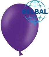 Ballonnen Paars B95 30 cm 100 stuks