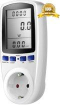 Energiemeter | Verbruiksmeter | Energiekostenmeter |Energieverbruiksmeter | Elektriciteitsmeter| Multimeter | Energieverbruikmeter | Voltagemeter| Digitale KWH meter | Met LCD display | NIET VOOR BELGIE |
