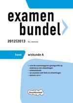 Examenbundel HAVO wiskunde A - 2012/2013
