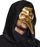 Oogmasker Venice naso goud