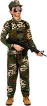 Militair soldaten pak voor jongens - Verkleedkleding - 110/116