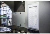 Durable Duraframe magnetic Plus A4 metaal/zilver