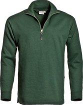 Santino Alex Zipsweater Donker groen L