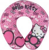 Hello Kitty reis nekkussen roze - reiskussen