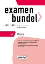 Omslag van 'Examenbundel VWO - Biologie 2012/2013'