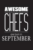 Awesome Chefs Are Born in September