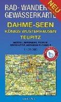 Dahme-Seen: Königs Wusterhausen, Teupitz 1 : 35 000 Rad-, Wander- und Gewässerkarte