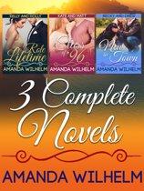 Three Complete Novels by Amanda Wilhelm