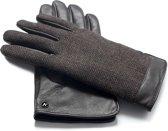napoGENT Echt lederen touchscreen handschoenen Bruin maat S