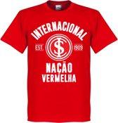 Internacional Established T-Shirt - Rood - XXL