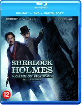 Sherlock Holmes 2: A Game of Shadows (Blu-ray+Dvd)