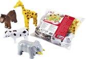 Klein 3D dierenpuzzel met magneten Paard en Koe 8 stukjes