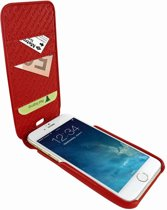 Piel Frama iPhone 8 / 7 Plus iMagnumCards Red