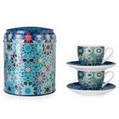 Images D'Orient POR-922002 kopje Multi kleuren Koffie 2 stuk(s)