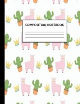 Composition Notebook: Wide Ruled Paper Notebook Journal - Cute White Wide Blank Lined Workbook for Teens Kids Students Girls for Home School