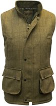Tweed vest - light sage - maat M