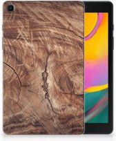 Samsung Galaxy Tab A 8.0 (2019) Silicone Tablet Hoes Tree Trunk