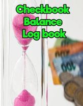 Checkbook Balance Log Book
