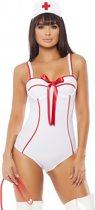 In Perfect Health Sexy Nurse Costume - Wit