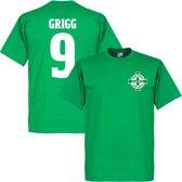 Noord Ierland Logo Will Grigg T-Shirt - XS