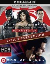Batman v Superman - Dawn of justice + Man of steel (4K Ultra HD Blu-ray)