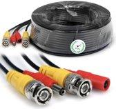 Beveiliging video kabel stroom kabel BNC DC-kabel Combo-kabel voor CCTV Camerasysteem, 40M