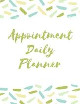 Appointment Daily Planner