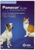 Panacur Ontworming - Hond En Kat - 10 Tabletten