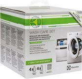 Electrolux onderhoudsbox voor wasmachine en vaatwasser. 4 x ontkalker, 4 x ontvetter en een waszak - universeel