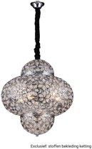 Lumenzy Hanglamp Oriental Zilver Ø 45 cm