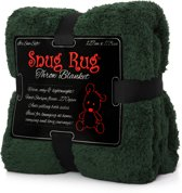 Gift House International Snug-Rug Sherpa - Deken - Racing Groen