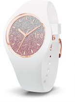 Ice-Watch Lo IW013427 Horloge - Siliconen - Wit - 34 mm