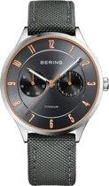 BERING 11539-879 - Horloge - Nylon - Zilverkleurig - Ø 39 mm
