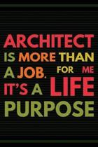 Architect Is More Than a Job