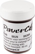 Paver Color, bruin, 40ml