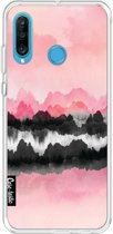 Casetastic Softcover Huawei P30 Lite - Pink Mountains