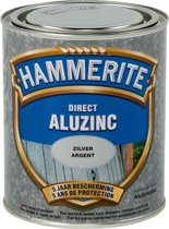 Hammerite Metaallak Direct Aluzinc - Zilver - 750ml