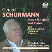 Schurmann: Music For Violin And Piano