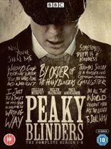 Peaky Blinders Seizoen 1 - 5 DVD-box Engelstalig + 4 Retro Cards & Extra Beeldmateriaal