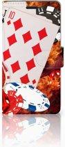 Image of Samsung Galaxy A7 Uniek Design Telefoonhoesje Casino (8718894189979)