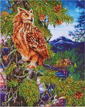 Diamond Dotz Twilight Wisdom (47x59 cm) - Diamond Painting