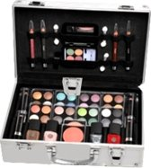 Briconti Make-up Koffer In Aluminium Design, 51-delig