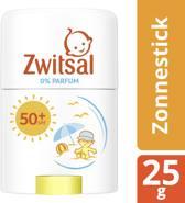 Zwitsal Zonnestick SPF50+  0% parfum - baby zonnebrand parfumvrij