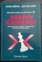 85 karpov-kasparov Wereldtweekamp schaken
