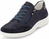 12-41050-18 Dames Sneaker - Extra Breed - Blauw