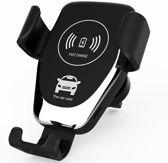 Draadloze Oplader Auto Houder Fast Charge Qi - Universele Telefoon Autohouder - Ventilatierooster