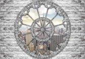 Fotobehang View City Skyline Empire State New York | L - 152.5cm x 104cm | 130g/m2 Vlies